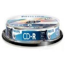 CD lemez Philips 80' R 10lemez/henger
