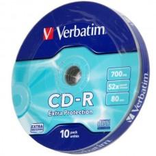 CD lemez Verbatim 80' R 10lemez/henger