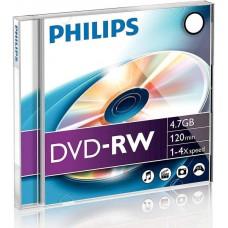 DVD lemez Philips 4,7GB -RW 4x PH386245