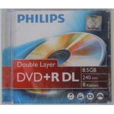 DVD lemez Philips 8,5GB +R DualLayer PH992114