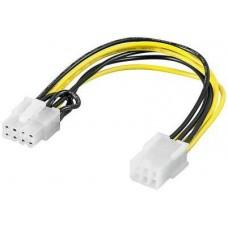 6pin  >  8pin PCI-Express átalakító Goobay 93635