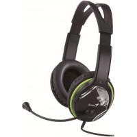 Genius HS-400A mikrofonos fejhallgató