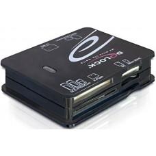 21in1 USB kártyaolvasó Delock 91471