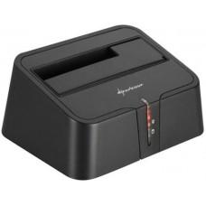 "HDD dokkoló 2,5""-3,5""SATA/USB 3.0 Sharkoon QuickPort XT V2"