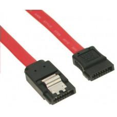 SATA adatkábel 50cm fém clip-es nBase 750557