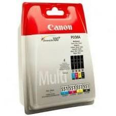Canon CLI-551 CMYK patron multipack