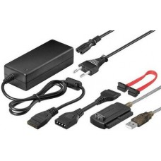 """USB - IDE/SATA 2,5""""/3,5"""" adapter Goobay 50847"""