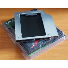 Optibay keret notebookba SATA-SATA 9,5mm Kolink HDKO001