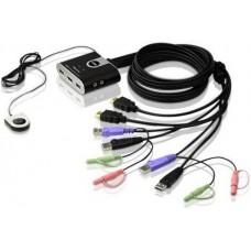 ATEN CS692 KVM switch HDMI 2port + audió
