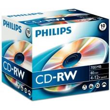 CD lemez Philips 80' RW 12x PH710242