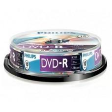 DVD lemez Philips 4,7GB -R 10lemez/henger PH922524