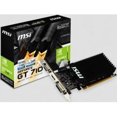GeForce GT710 MSI GT710 2GD3H LP PCX vga kártya