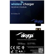 Indukciós töltő adapter Akyga AK-QIR-02 (Samsung S3)