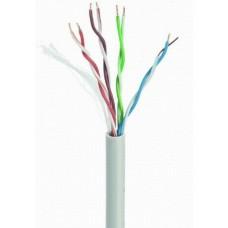 UTP fali kábel 100m dob CAT5.E Gembird 24AWG UPC-5004E-SOL/100
