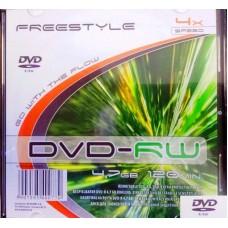 DVD lemez FreeStyle 4,7GB -RW 4x slim tokos