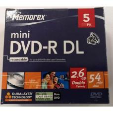 DVD lemez Memorex 2,6GB -R26 DualLayer 4x