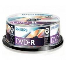 DVD lemez Philips 4,7GB -R 25lemez/henger PH922555