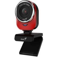 Genius qCam 6000 piros webkamera