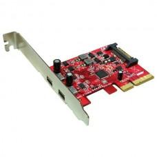 USB 3.1 C PCX kártya 2portos Roline 15.06.2143