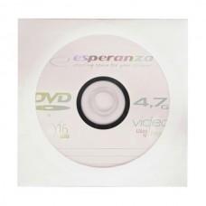 DVD lemez Esperanza 4,7GB -R papírtokos