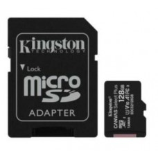 SD Micro 128GB XC Kingston 1Adapter CL10 SDCS2/128GB