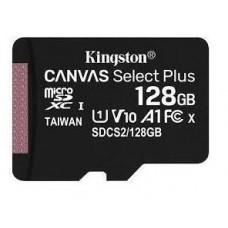 SD Micro 128GB XC Kingston Adapter nélkül CL10 SDCS2/128GBSP