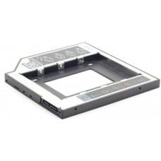 Optibay keret notebookba SATA-SATA 12,7mm Gembird MF-95-02