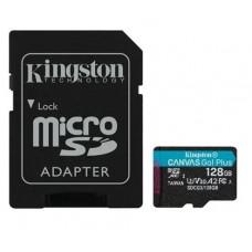 SD Micro 128GB XC Kingston 1Adapter UHS-I U3 SDCG3/128GB