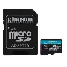 SD Micro 256GB XC Kingston 1Adapter UHS-I U3 SDCG3/256GB