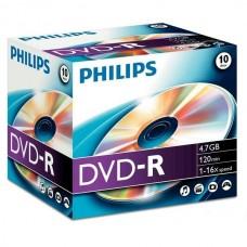 DVD lemez Philips 4,7GB -R normál tokos PH887212