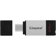 USB Flash Ram   64GB Kingston DT80 USB-C 3.2 Gen1