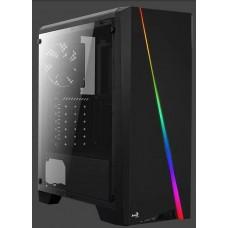 AeroCool Cylon RGB ablakos fekete ház CAAC270