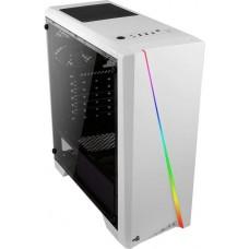 AeroCool Cylon Pro TG RGB ablakos fehér ház CAAC299