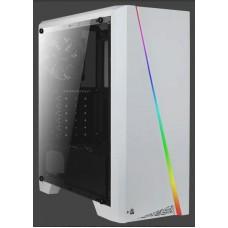 AeroCool Cylon RGB ablakos fehér ház CAAC280