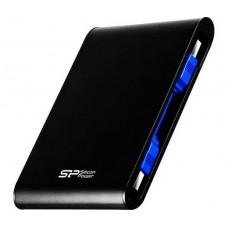 "2,5"" USB HDD 2TB Silicon Power Armor A80 USB 3.0 fekete SP020TBPHDA80S3K"
