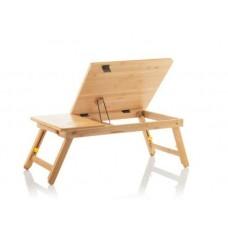 InnovaGoods összecsukható bambusz laptop asztal