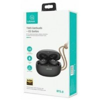 Usams Bluetooth mikrofonos fülhallgató dokkolóval BHUES02