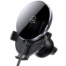 Indukciós töltő + univerzális autós tartó Usams CD164DZ01