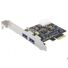 USB 3.0 PCX kártya 2portos