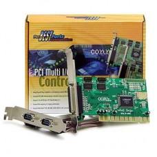 I/O PCI kártya 2soros+1párhuzamos port
